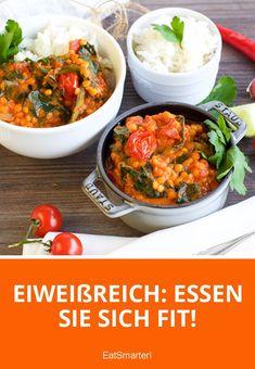 Eiweißreich: Essen Sie sich fit!   eatsmarter.de
