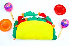 DIY Taco Pillow
