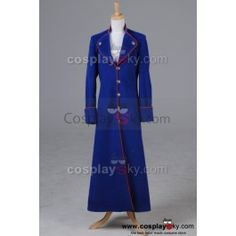 Hot Who Is Doctor Cosplay The 10th Kingdom Virginia Lewis Costume Coat