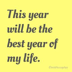 The only resolution you need this year!