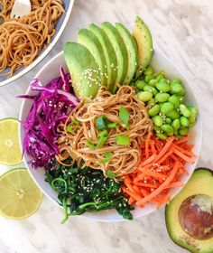 A simple honey soy soba noodle stir-fry that is easy to make and comes together in less than 30 minutes. Makes the perfect dinner for a busy night!