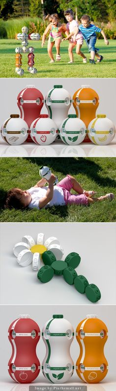Packaging concept repurpose your drink packaging into a child's toy curated by Packaging Diva PD created via http://www.psfk.com/2014/09/beverage-carton-kids-creativity-social-responsibility.html