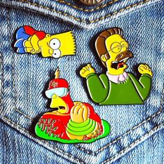 #Repost @why.you.little Our current pin line-up all available in our online store. Make your Simpsons pin game strong by adding our Screaming Flanders Scaredy Bart and Radioactive Man pins to your collection. . Check out our online store http://ift.tt/2iGiCTK (link in bio). Worldwide shipping is only $3.50 USD. . #simpsonspins #fanart #pingame #patchgame #pingamestrong #enamelpins #lapelpins #hatpins #pinart #simpsonsfan #scaredybart #screamingflanders #radioactiveman #bartsimpson…