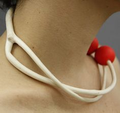 This is one of my favorites on lostateminor.com: Mitsumata Necklace