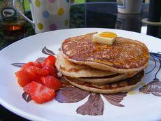 lemon ricotta sourdough pancakes