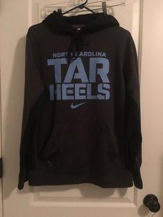 5c7a0d673430f North Carolina Tarheels Adult Nike Therma Fit Adult Hooded Shirt Sz S  Clothes  Nike