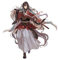 Izuminokami Kanesada from Granblue Fantasy