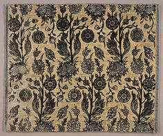 17th C. Persian textile - L.A. County Museum of Art