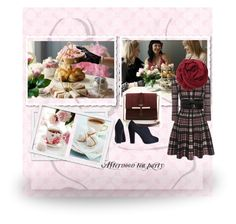 """Afternoon tea party"" by gagenna ❤ liked on Polyvore featuring Alexander McQueen, Bajra, AlexanderMcQueen, newlook and marissacollections"
