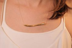 A 14-carat-gold necklace made from fast food? Yup. Check out what exactly it's made out of.