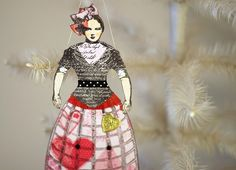 victorian paper dolls images  | Romantic Victorian Inspired Paper Doll by oldworldprimitives