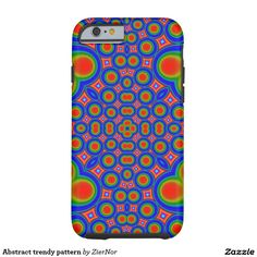 Abstract trendy pattern tough iPhone 6 case