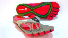 Sazzi sandals extend the individual-toed footwear trend to sandals