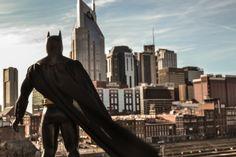Watching over Nashville Art Print