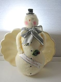 "Another snowman!!! Bebe'!!! Love this cute ""Frosty""!!!"