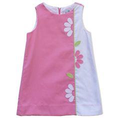 Florence Eiseman Pink Pincord Dress
