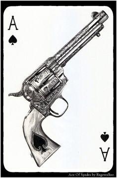 Ace Of Spades by Ragewalker
