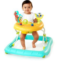 The Bright Starts Walk-A-Bout walker is best suited for children who are 25 pounds and lighter. Cool Gifts For Kids, Cute Frogs, Baby Learning, Baby Development, Activity Centers, Baby Gear, Stuff To Do, Kid Stuff