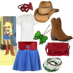 Applejack - Equestria girls - inspired outfit