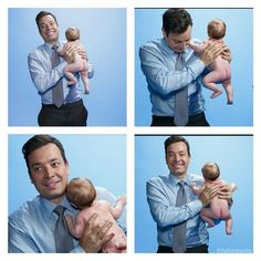 Best dad award goes to this man! Jimmy Fallon!