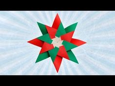 Origami Mandala of 8 details by Maria Sinayskaya - Origami Tutorial. - YouTube