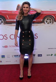 Celebrity Red Carpet, Celebrity Style, Smart Casual Wardrobe, Sexy Legs And Heels, Leather Fashion, Style Icons, Ideias Fashion, Bodycon Dress, Street Style