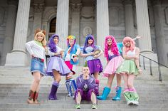 Brace Yourself For The Cuteness Of This My Little Pony Equestria Girls Cosplay Group