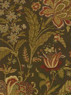 Interior Place - Black Jacobean Leaf Floral Wallpaper, $46.58 (http://www.interiorplace.com/black-jacobean-leaf-floral-wallpaper/)