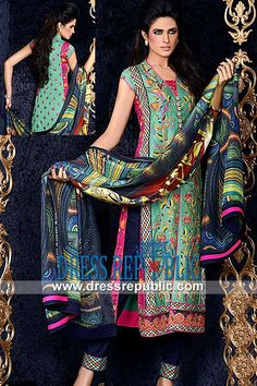 Asim Jofa Luxury Lawn Dresses Collection 2014  Lawn Online Shopping: Buy Online Asim Jofa Luxury Lawn Dresses Collection 2014 in Slough, United Kingdom. Call London 0208 123 4031. by www.dressrepublic.com