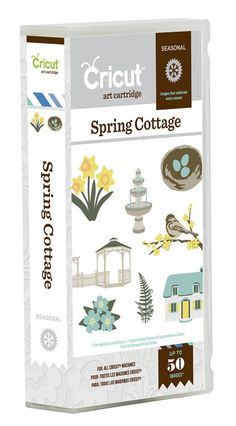 Give your projects a touch of the English countryside with the Spring Cottage cartridge! This seasonal cartridge is filled with spring-themed designs including flowers, a gazebo, a fountain, and a window box. You will also love the strawberry and berry Berry Baskets, Craft Cutter, Cricut Cartridges, Paper Crafts, Diy Crafts, Craft Gifts, Holiday Gifts, Cardmaking, 3 D