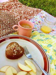 Strawberry-Almond Quinoa Muffins