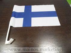 Autolippu kiinnityksellä (Suomi)   http://www.mainos.marketing/fi/pildid/Mainosliput/