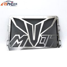 100.19$  Buy here - http://aliuft.worldwells.pw/go.php?t=32549815352 - black color hot motorcycle radiator guard protector grille grill cover stainless steel radiator grill cover For YAMAHA MT07