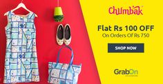 Get Funky-Mod-Crazy With #Chumbak. Get Flat Rs 100 Off On Rs 750 - http://www.grabon.in/chumbak-coupons/ #SaveOnGrabOn