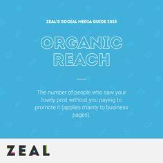 Social Media Glossary: Organic Reach #SocialMedia #Marketing