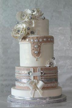 Our November's Chef of the Month is Eva Salazar, Cake Designer at Makememycake in Miami! Eva's custom design wedding cake is stunning! #chefuniforms #evasalazar #weddingcakes #cakedesigner