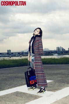 Kiko Mizuhara - Cosmopolitan Magazine October Issue '14