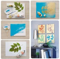 diy house painting decor!  interesting