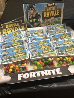 Fortnite birthday party -boogie bombs Party Favors For Kids Birthday, 10th Birthday Parties, Birthday Party Decorations, Birthday Celebration, Birthday Ideas, 12th Birthday Cake, Boy Birthday, Football Birthday, Party Ideas