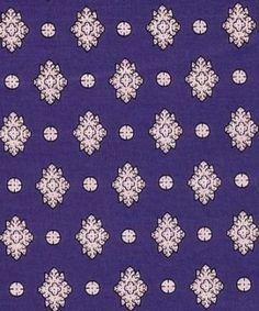 tissu charles demery fond bleu villa rosemaine tissus d 39 hier et tissus d 39 aujourd 39 hui pour le. Black Bedroom Furniture Sets. Home Design Ideas