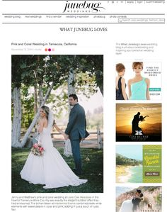 TEMECULA WINERY WEDDING FEATURED IN JUNEBUG WEDDINGS! [ Intertwined Events ] www.intertwinedevents.com