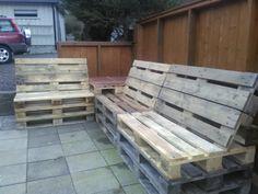 Outdoor Furniture, Outdoor Decor, Bench, Home Decor, Beds, Decoration Home, Room Decor, Home Interior Design, Desk