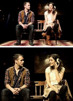 """""""You have a… Romantic streak."""" #oncelondon. I'm pretending I will love them as much as Cristin and Steve, but....."""