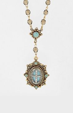 Virgins+Saints+&+Angels+Beaded+Rosary+Necklace+(Nordstrom+Exclusive)+available+at+#Nordstrom