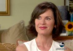 """""""There are days where you wake up and you feel so horrible that the only thing that will make you feel better is more alcohol. Elizabeth Vargas, Feel Better, Anchor, Anxiety, Short Hair Styles, Interview, How Are You Feeling, Hairstyles, Sexy"""