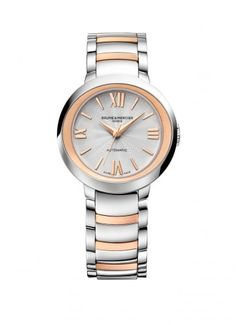 Discover the Promesse collection of men's and women's watches designed by Baume et Mercier and find the perfect watch to wear. Baume & Mercier manufacturer of Swiss watches since Audemars Piguet, Gold Link Bracelet, Bracelet Watch, Cartier, Datejust Rolex, Or Rouge, Silver Water, Rose Gold Watches, 18k Rose Gold