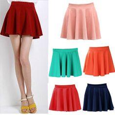 relacionados faldas para adolescentes faldas para adolescentes ... Swing Dress, Dress Skirt, Skater Skirt, Short Skirts, Mini Skirts, Pleated Shorts, Dresses For Teens, Cheer Skirts, Womens Fashion