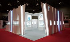 Creative exhibition booths for trade-shows created by TriadCreativeGroup.com inspired by artistic design and architecture. Give Steve a call at (262) 781-3100 ext 17 (The related picture was not created by TriadCreativeGroup)