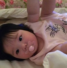 my beautiful baby 😍 Cute Asian Babies, Korean Babies, Asian Kids, Cute Babies, Cute Little Baby, Cute Baby Girl, Little Babies, Baby Kids, Baby Boy
