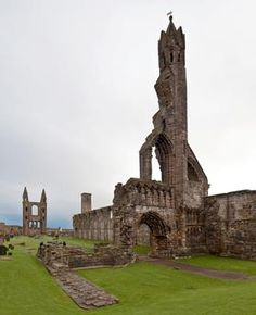 St. Catherine's Cathedral abbey ruins, Scotland